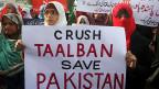 Nach dem Massaker in einer Schule in der Stadt Peshawar haben Tausende gegen die islamistischen Taliban protestiert.