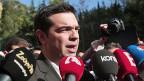 Alexis Tsipras, Chef der Linksaussen-Partei Syriza. Diese hat bei den griechischen Neuwahlen gute Chancen auf einen Sieg. Tsipras will das deutsche Spardiktat in der Eurozone beenden und einen Schuldenschnitt erreichen.