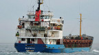 Der Frachter «Blue Sky M».