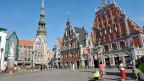 Im Zentrum der lettischen Hauptstadt Riga. Die Spannungen zwischen Russland und der EU geben der Präsidentschaft Lettlands eine besondere Bedeutung.