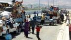 Syrische Flüchtlinge an der Grenze zu Libanon: Künftig benötigen sie für die Einreise ein Visum.