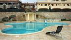 Ein Tourismuskomplex in Brancaleone in Kalabrien. Das Bild hat die italienische Finanzpolizei zur Verfügung gestellt, nachdem sie die Anlage vor einem Jahr beschlagnahmt hatte.