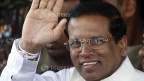 Sri Lankas neu gewählter Präsident Mithripala Sirisena am 9. Januar 2015.