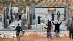 Siedlungsbau in Palästina.