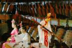 Alte chinesische Instrumente