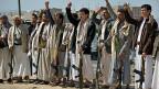 Eine Gruppe schiitischer Houthis, am 19. Januar in Sanaa, der Hauptstadt Jemens.