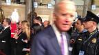 Vizepräsident Joe Biden kurz vor Obamas Rede zur Lage der Nation.