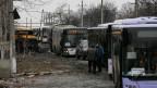 Aus der strategisch wichtigen Stadt Debalzewe werden Zivilisten evakuiert.
