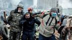Am 20. Februar 2014 wurden auf dem Maidan im Zentrum von Kiew 50 Demonstranten getötet.