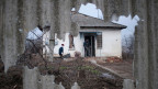 Im Dorf Optyne bei Donesk hält die Waffenruhe