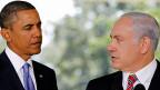Grosse Sympathie schien bereits im September 2010 nicht zu herrschen zwischen den beiden: US-Präsident Barack Obama und der israelische Premier Benjamin Netanyahu.