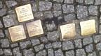 Die «Stolpersteine» erinnern an Menschen, die von den Nazis deportiert und vergast worden sind.