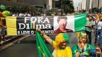 Hunderttausende protestierten am Sonntag gegen Staatspräsidentin Dilma Rousseff.