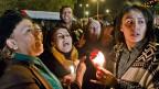 Solidaritätsbekundungen mit den Opfern des Attentats vom Mittwoch in Tunis.
