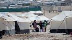 Die Evaluation empfiehlt, sich auf weniger, dafür grössere, Projekte zu konzentrieren. Flüchtlingslager in Jordanien.