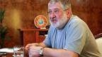 Igor Kolomoiski gibt am 24. Mai 2014 ein Interview - als Gouverneur von Dnipropetrowsk.