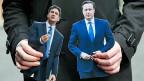 Ed Miliband und David Cameron: Letzter lautstarker Schlagabtausch vor den britischen Unterhauswahlen.