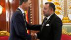 Der marokkanische König Mohammed VI. (rechts) mit dem spanischen König Felipe VI.