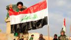 Der junge Schweizer wollte sich offenbar einer Gruppierung wie «Al Kaida» und «Islamischer Staat» anschliessen. IS-Kämpfer in der Nähe von Tikrit.