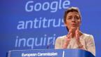 Weil Google den eigenen Vergleichsdienst systematisch zuoberst anbiete, verletze das Unternehmen die europäischen Wettbewerbsregeln, sagt EU-Kommissarin Margrete Vestager.