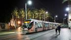 Tram in Jerusalem.
