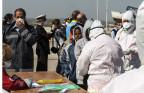 Migranten, die Italien erreicht haben