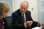 Bundesrat Schneider-Ammann beim IWF