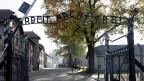 «Arbeit macht frei», steht über dem Eingang zum KZ Auschwitz. Der Prozess gegen Oskar G. stößt auf grosses Interesse: Unter den mehr als 60 Nebenklägern sind 52 Überlebende und Angehörige von in Auschwitz ermordeten Menschen.