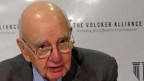 Der grosse alte Mann der Finanzkontrolle: «Bankendompteur» Paul Volcker.