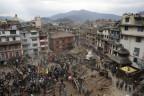 Erdbebenkatastrophe in Kathmandu