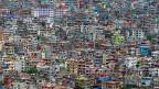 Die nepalesische Hauptstadt Kathmandu aus der Luft.