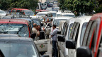 Verkehrschaos in der libanesischen Hauptstadt Beirut.