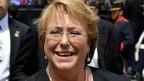 Präsidentin Michele Bachelet.