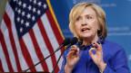 Hillary Clinton muss sich gegen Kritiker verteidigen.