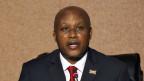 Pierre Nkurunziza, Präsident von Burundi will unbedingt noch eine dritte Amtszeit lang an der Macht bleiben.