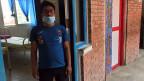 Der 22-jährige Krankenpfleger Shankar. Er lebt seit 14 Jahren gemeinsam mit seiner leprakranken Mutter in der Shanti-Leprahilfe.