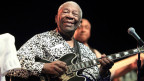Blues –Legende B.B. King am Framptons Guitar Circus am 8. August 2013.