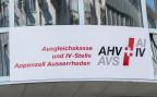 Das Schild der Ausgleichskasse und IV-Stelle Appenzell Ausserrhoden