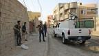 Der IS zwingt den irakischen Präsidenten zu einer riskanten Strategie. Bild: Strasse in Ramadi.