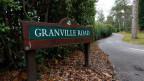 Die Granville Road, wo der russische Geschäftsmann Alexander Perepilichnyy beim Joggen am 10. November 2012 zusammenbrach.