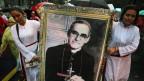 In El Salvador wird Oscar Romero schon länger wie ein Heiliger verehrt.