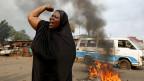 Proteste gegen den Präsidenten in der burundischen Hauptstadt Bujumbura.