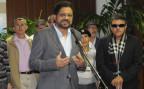 Ivan Marquez, der Chef-Verhandler der Farc in Havanna
