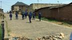 Burundische Polizeikräfte im Einsatz in der Hauptstadt Bujumpura.