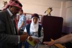 Ein paar wählt in Diyarbakir