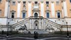 Die Mafia riss ich auch die Renovation des städtischen Parlaments in Rom unter den Nagel.