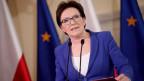 Ein alter Abhörskandal schüttelt Polen durch. Premierministerin Ewa Kopacz greift durch.