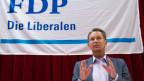 Wie liberal will die FDP in der Migrationspolitik sein? Parteipräsident Philipp Müller. (Bild Archiv)