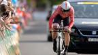 Fabian Cancellara wird Zweiter beim Zeitfahren an der Tour de Suisse.