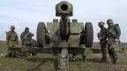 Der Konflikt in der Ostukraine eskaliert. Zunächst konzentrierten sich die Kämpfe auf Schirokine, östlich der Hafenstadt Mariupol.